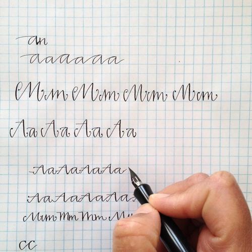 DIY Hand Lettered Labels