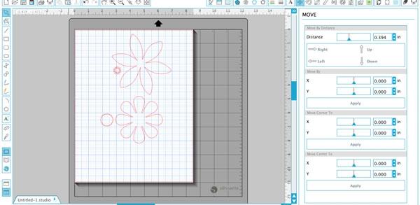 step1  -DIY 3D Flower Cards