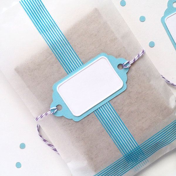 DIY Slider Tags - Maritza Lisa: These slider tags were made with a Silhouette tag shape and my Silhouette cutting machine. Click through so that I can show you how to make your own!
