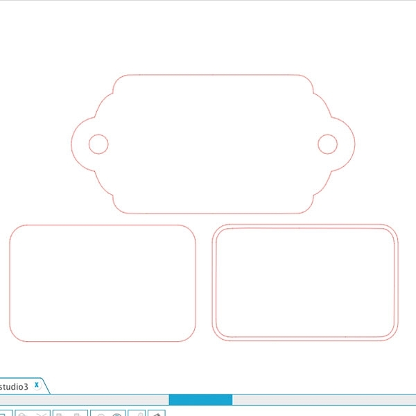 Create Your Own Slider Tags with this shape from Silhouette America