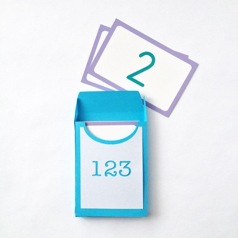 DIY Flash Card Box - Maritza Lisa
