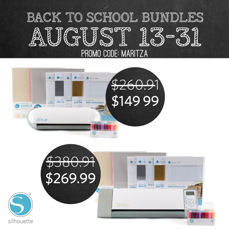 Silhouette Back to School Bundles