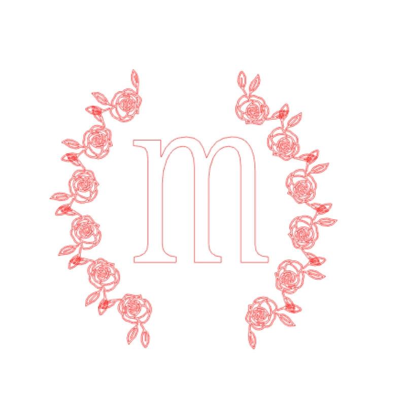 Create Your Own Rose Wreath - Maritza Lisa