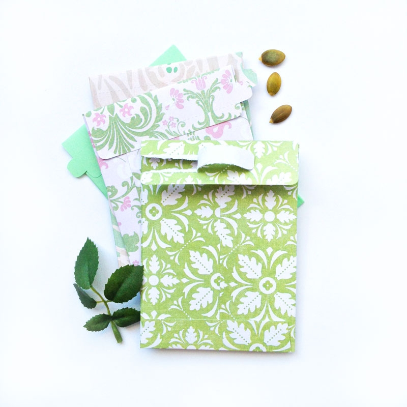 DIY Tear Away Seed Envelopes - Maritza Lisa (free Download)