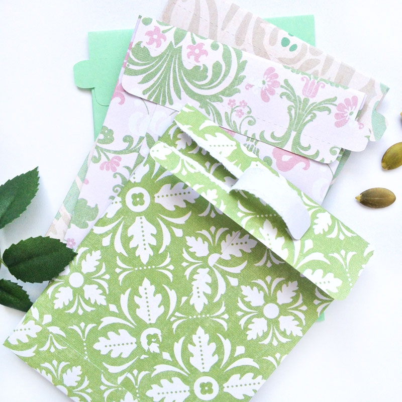 DIY Tear-Away Seed Envelopes - Maritza Lisa
