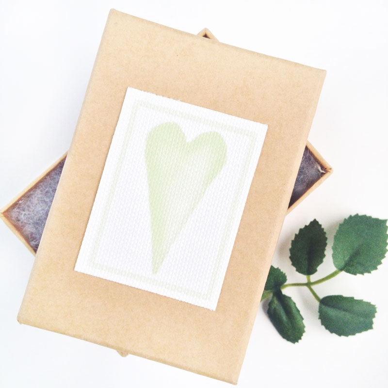 Create Your Own Watercolor Hearts and Canvas Labels - Maritza Lisa