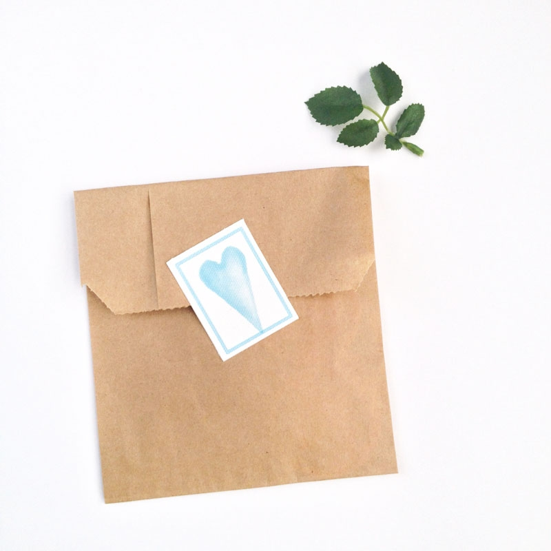 Create Your Own Watercolor Hearts and Canvas Labels