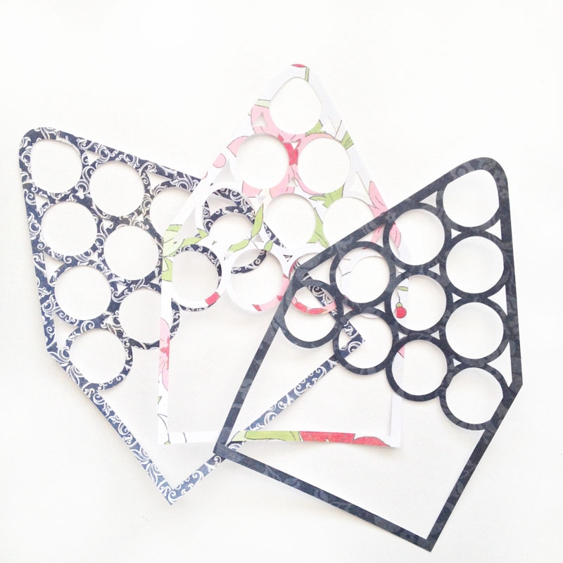 Lattice Envelope Liners - Maritza Lisa