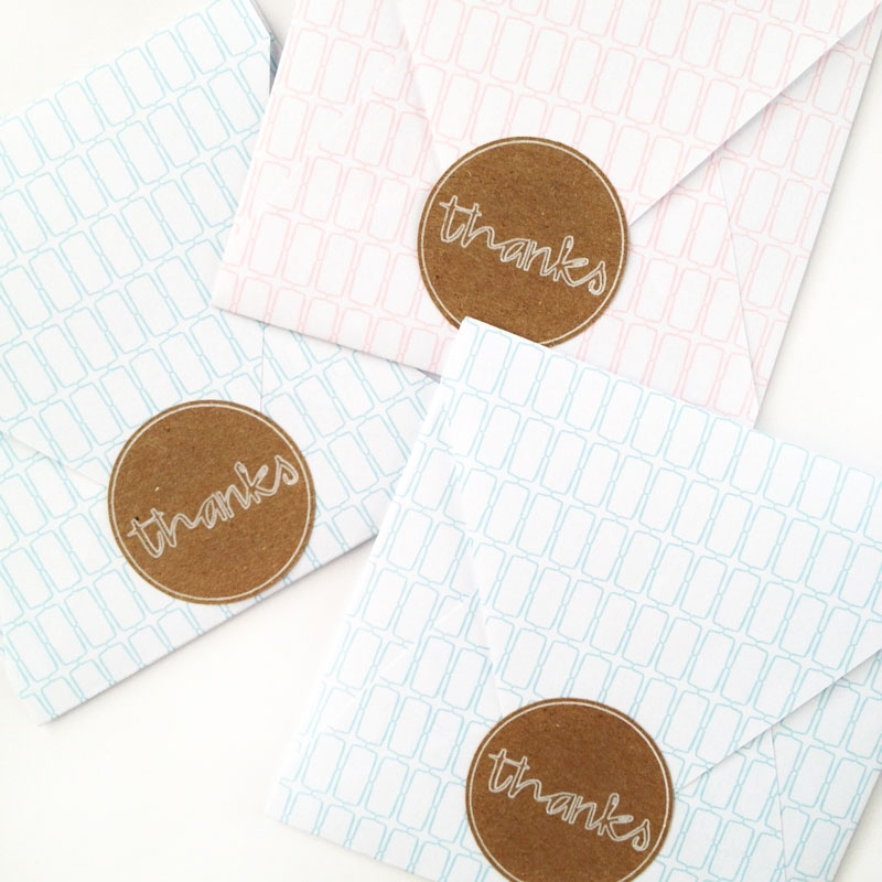 DIY Thanks Labels - Maritza Lisa