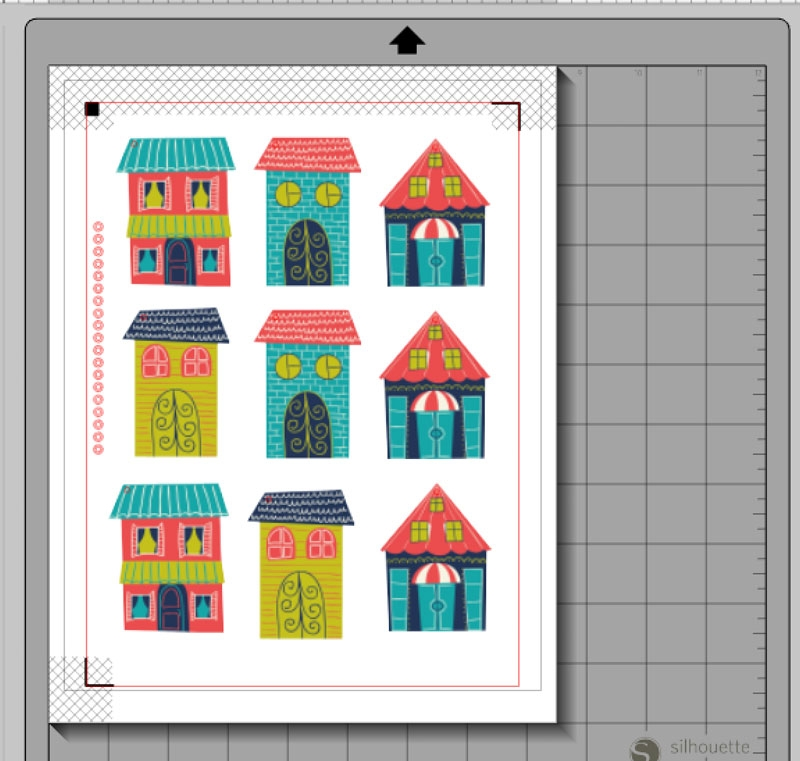 Create Your Own House Tags with Silhouette's Print and Cut Feature
