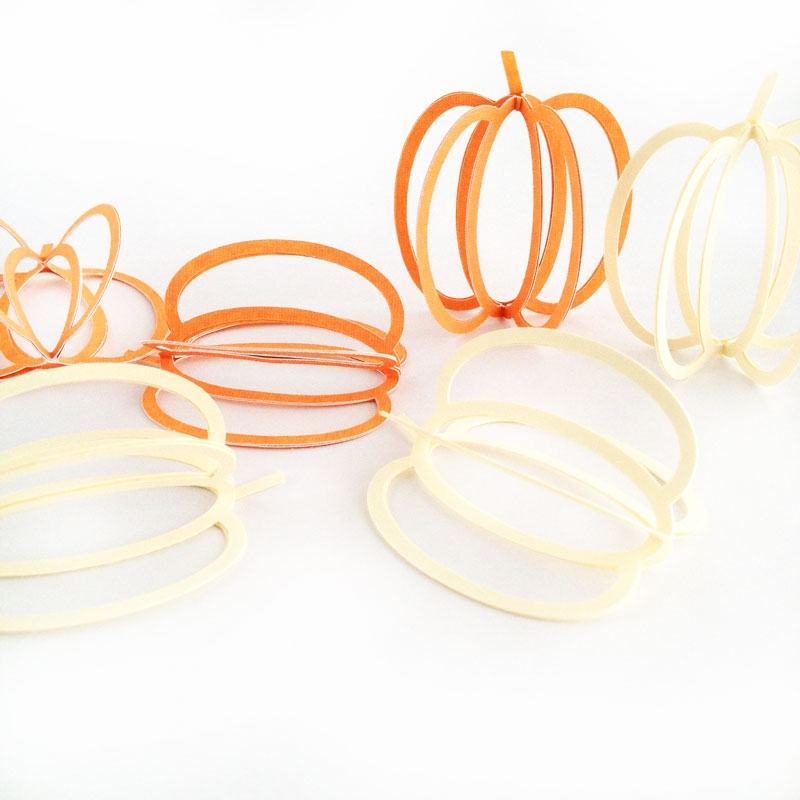 Silhouette Free Shape of the Week - 3d Pumpkins