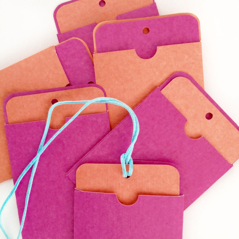 DIY Tags And Sleeves - Cut file and PDF available for download