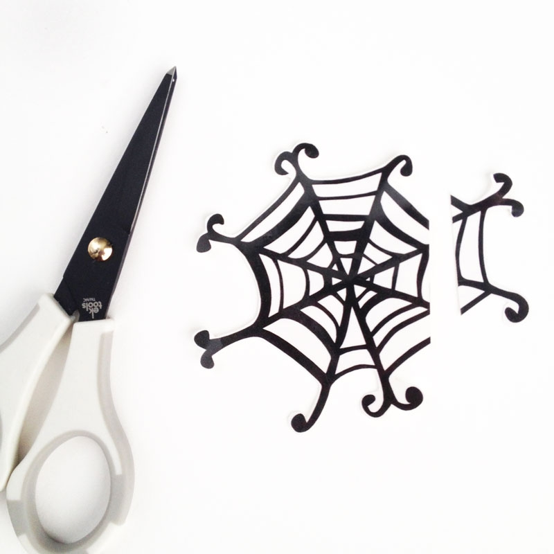 Spider Web Treat Bags for Halloween