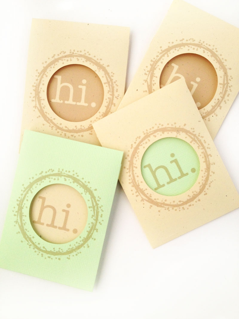 DIY Stationery - Window Tag Set - Maritza Lisa: This DIY Stationery project is fall inspired. Using these lovely free wreaths from Angie Makes, you can make these mini tag sets with window envelopes. Click through to make your own.