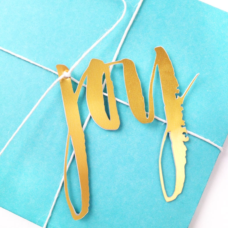 Festive Brushy Gift Embellishments - Maritza Lisa