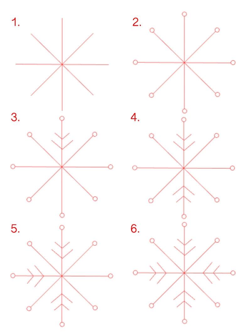 Design Your Own Snowflake - Maritza Lisa