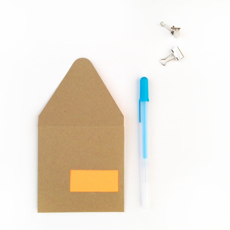 DIY Stationery - Create Your Own Envelope Cutouts from MaritzaLisa