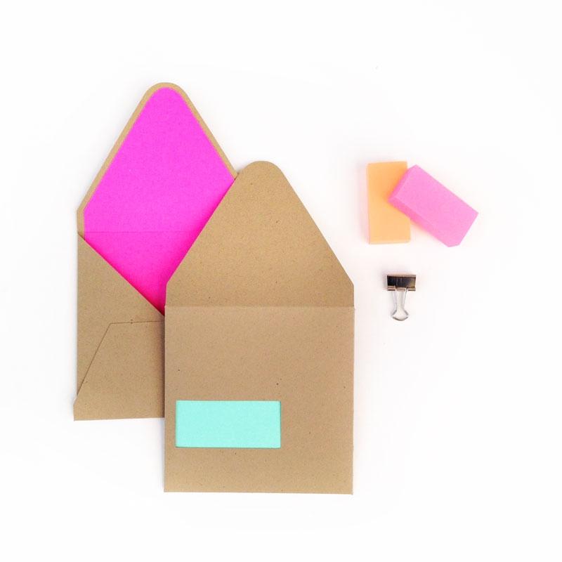 DIY Stationery - Create Your Own Envelope Cutouts - Maritza Lisa