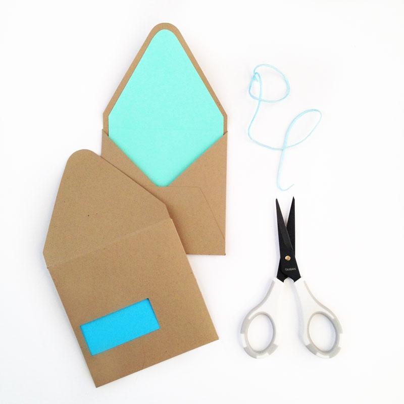 DIY Stationery - Envelope Cutouts from MaritzaLisa