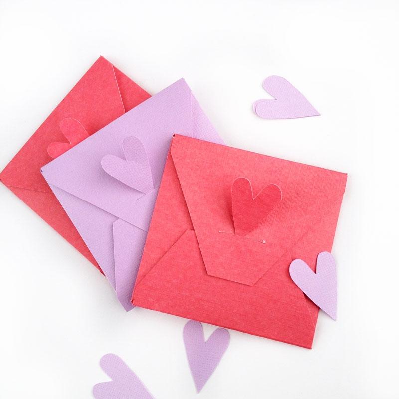 DIY Stationery - Valentine's Envelopes - MaritzaLisa