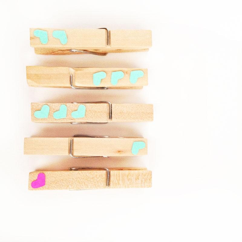 DIY Valentine's Clothespins - Maritza Lisa
