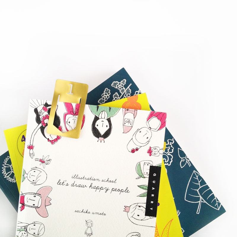 DIY Stationery - Gold Index Clips from Maritza Lisa