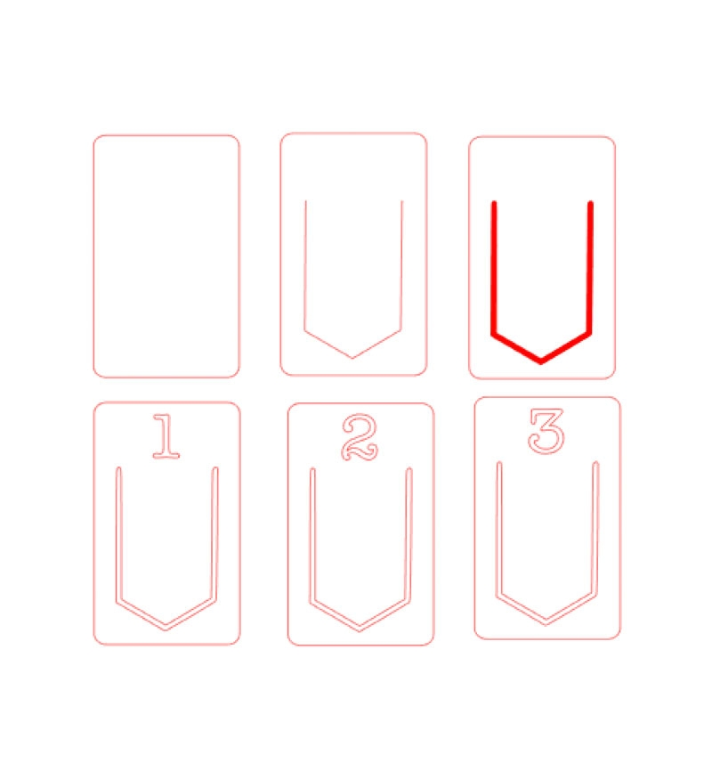 DIY Stationery - Create these Gold Index Clips with your Silhouette