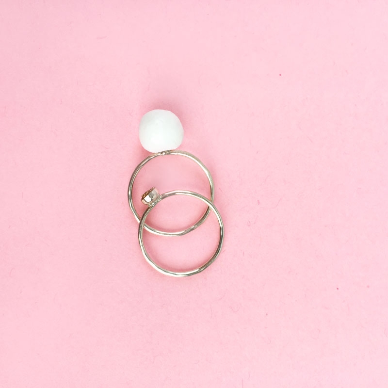 "DIY Jewelry - Create your own ""Pearl"" ring"