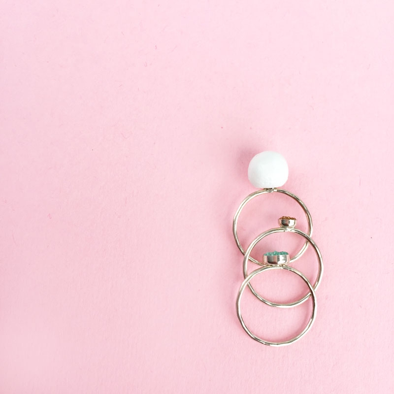 DIY Jewelry - Faux Pearl Ring
