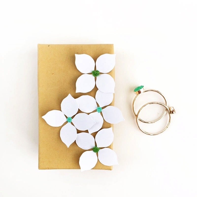 diy paper flower gift boxes