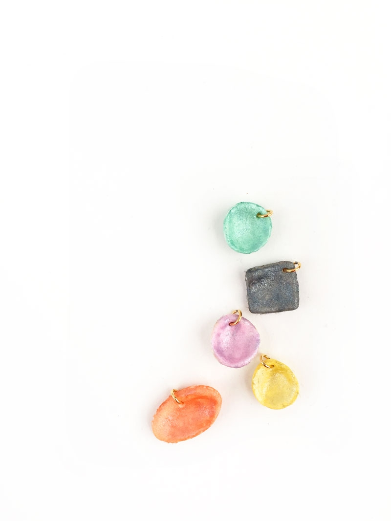 DIY Jewelry - Mini Clay Charms - Maritza Lisa: These colorful mini clay charms are perfect and simple for your summer jewelry. Click through for the full tutorial...