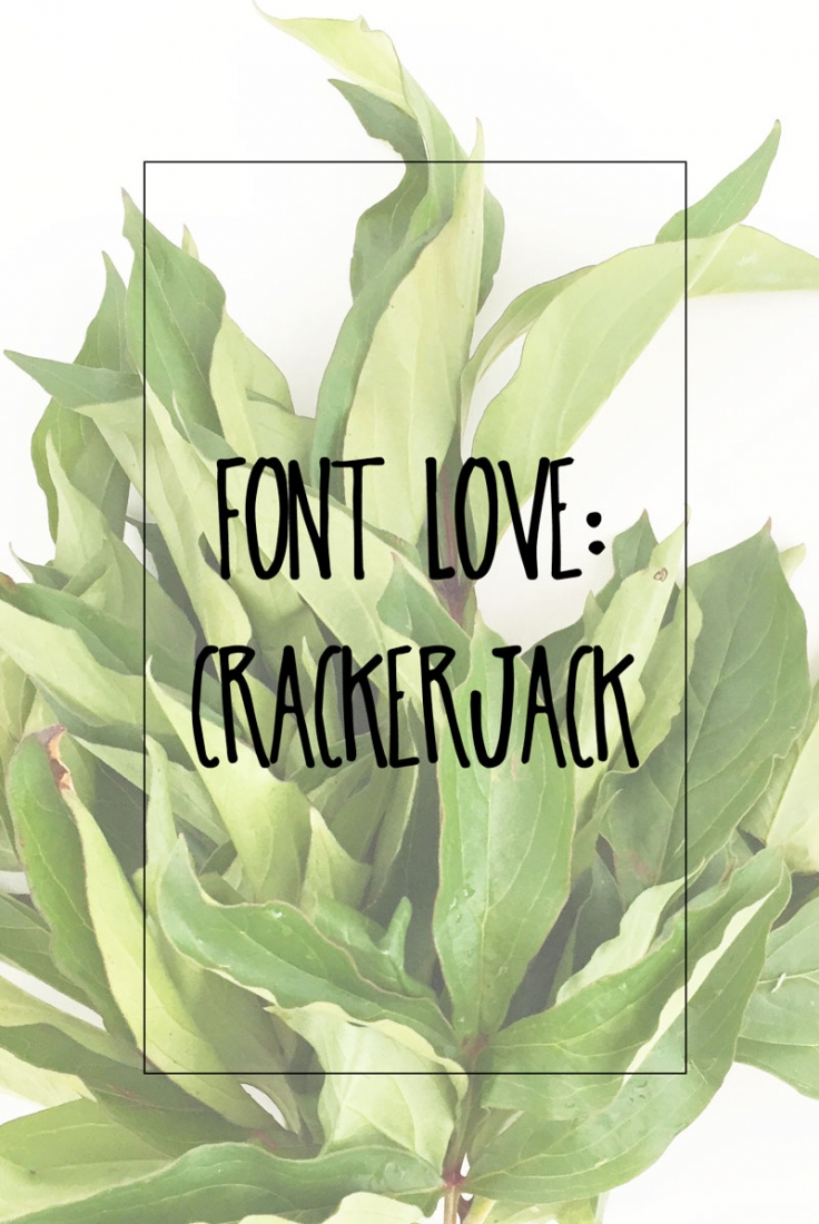 Font Love - CrackerJack - Maritza Lisa