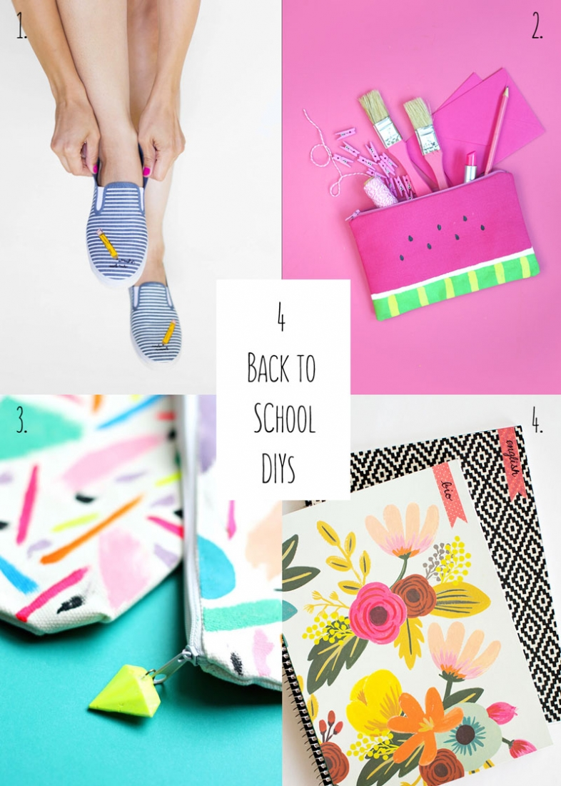 4 Back to School DIYs To Try