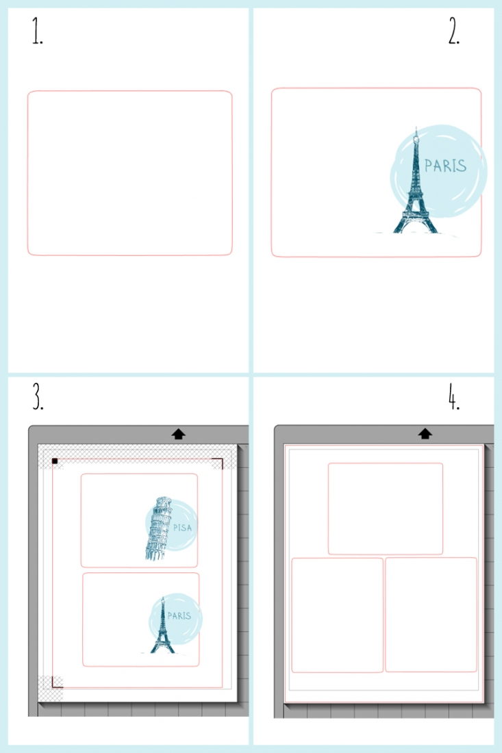 DIY Travel Journals with Silhouette Studio and your Silhouette cutting machine - Maritza Lisa