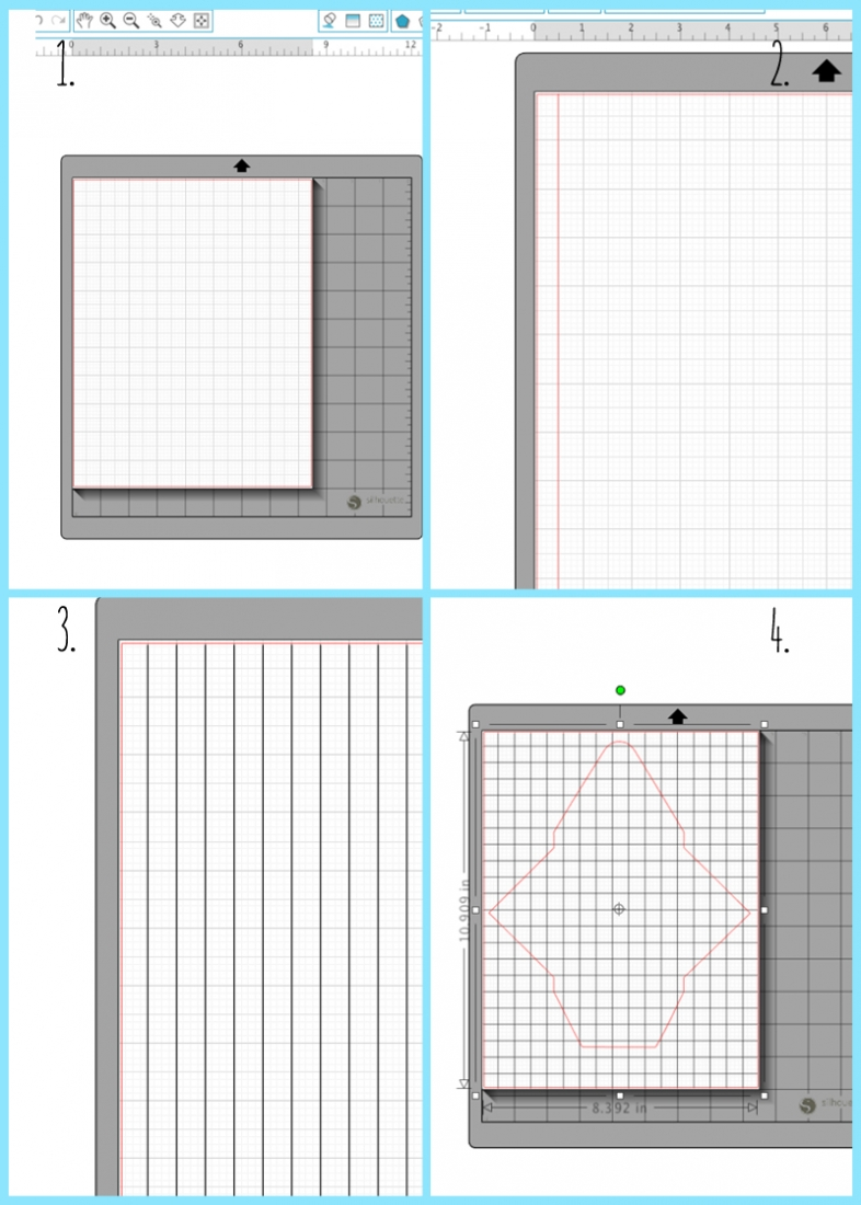 Use Silhouette Studio to create your own grid pattern. Click through for the tutorial