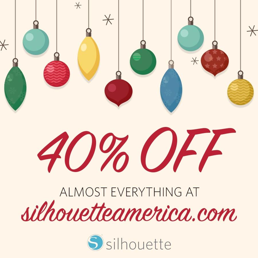 Silhouette Black Friday Sale | Deals| Maritza Lisa | Silhouette America