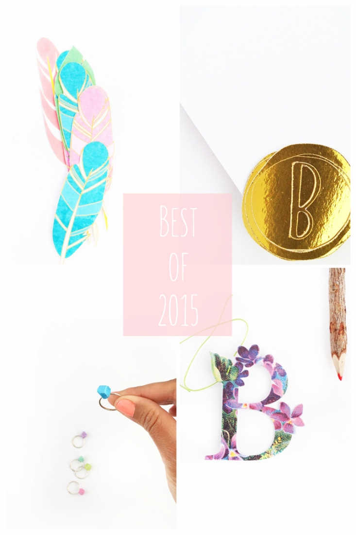 Best DIYs of 2015 on Maritza Lisa - Counting down the posts you loved in 2015. Click through to find out which one was the most liked...