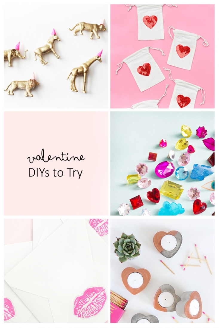 5 Valentine DIYs To Try - Maritza Lisa: This roundup is all about Valentine DIYs and Crafts. Click through to see a few of my favorites...