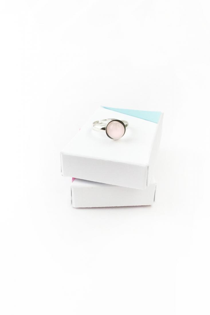 DIY Rose Quartz Ring - Maritza Lisa for The Effortless Chic