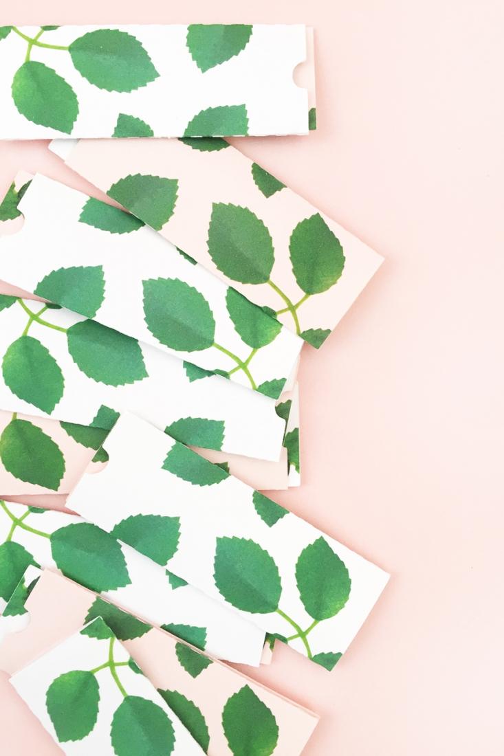 DIY Gift Tag Set - Maritza Lisa for The Effortless Chic