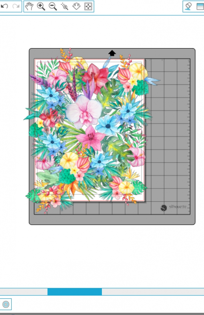 DIY Tropical Envelopes on Maritza Lisa - Design and make your own tropical stationery with these floral images. Click through for the tutorial!