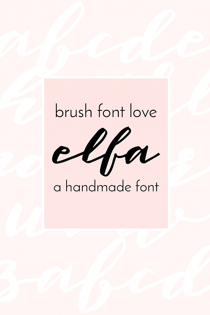 This is a pretty handmade brush font for all your designs. Perfect for your DIY projects, crafts, web site, blog or business. Click through for details on Maritza Lisa!