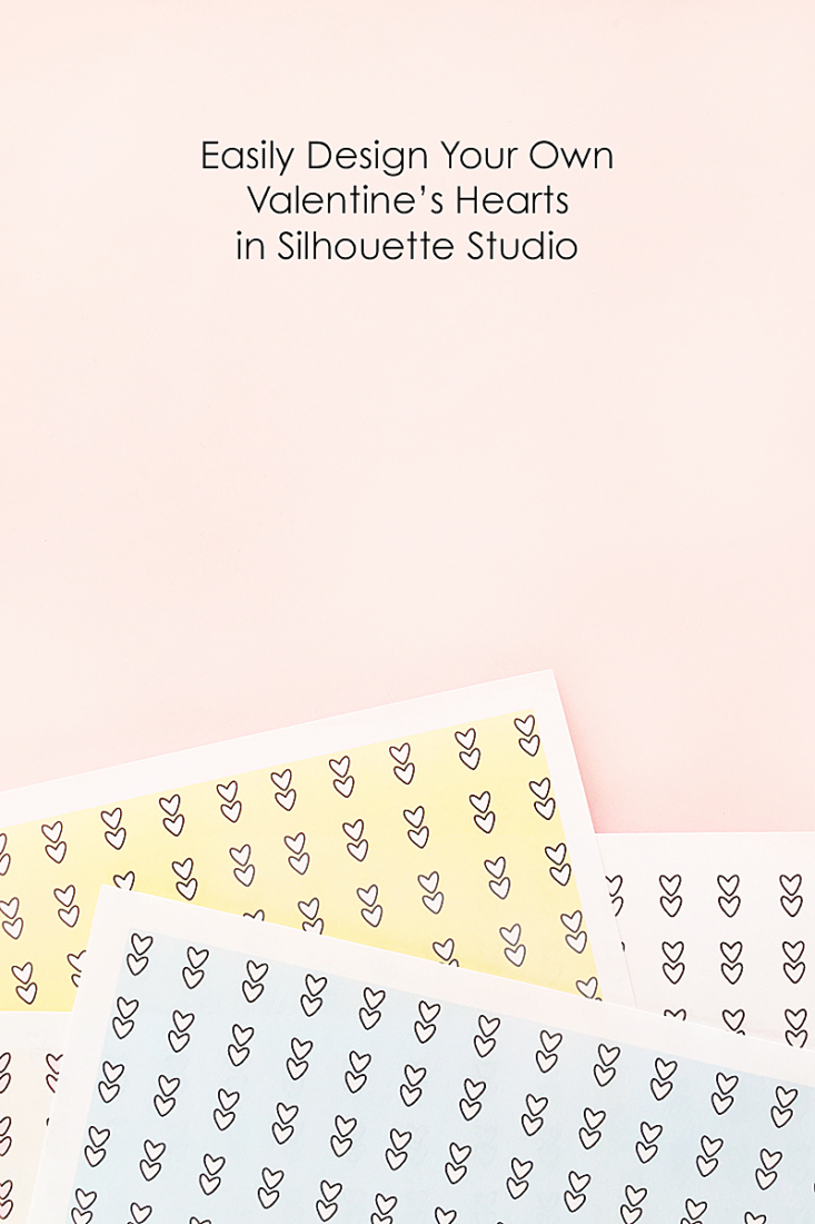 An Easy Way To Design Your Own Hearts In Silhouette Studio - Maritza Lisa: Here's how to easily design your own heart shapes for Valentine's in Silhouette Studio!