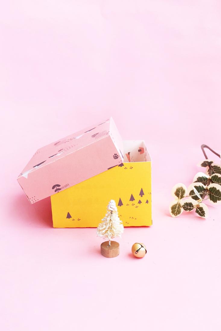 DIY Gift Box For Christmas
