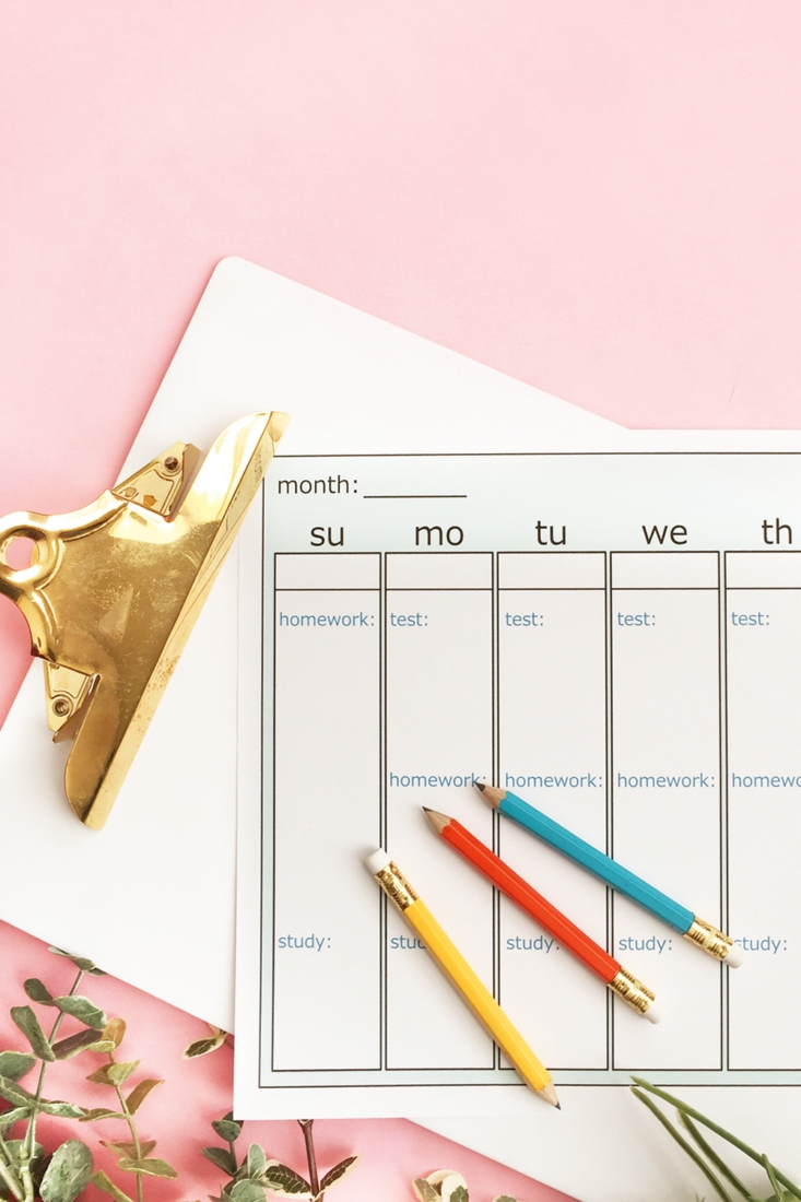 How To Design A Weekly Planner With Silhouette Studio