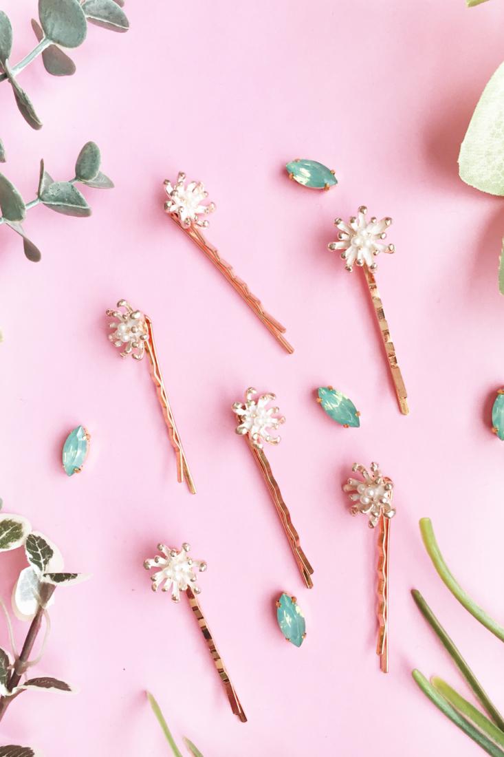 Must Have Hair Accessories to DIY – Vintage Pearl Hair Pins