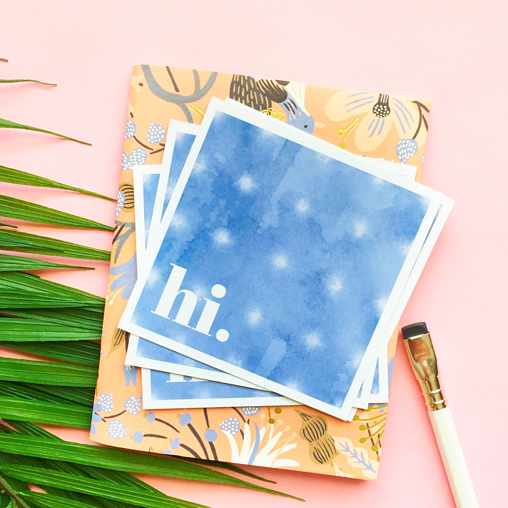 How To Make DIY Tie Dye Greeting Cards on Maritza Lisa