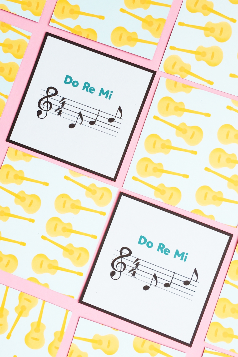 The Sound of Music Printable Memory Game